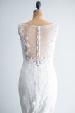Pronovias Lace and Tulle Wedding Gown - M/US10