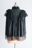 Victorian Grossgrain Beaded Jacket - XS/S