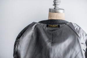 Vintage Brooks Brothers Gray Wool Jacket - M