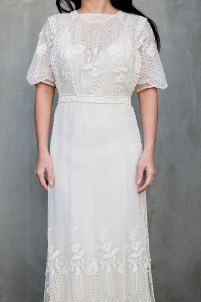 Edwardian Lace Gown - XS/S