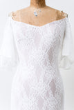 Lace Off the Shoulder Gown - S