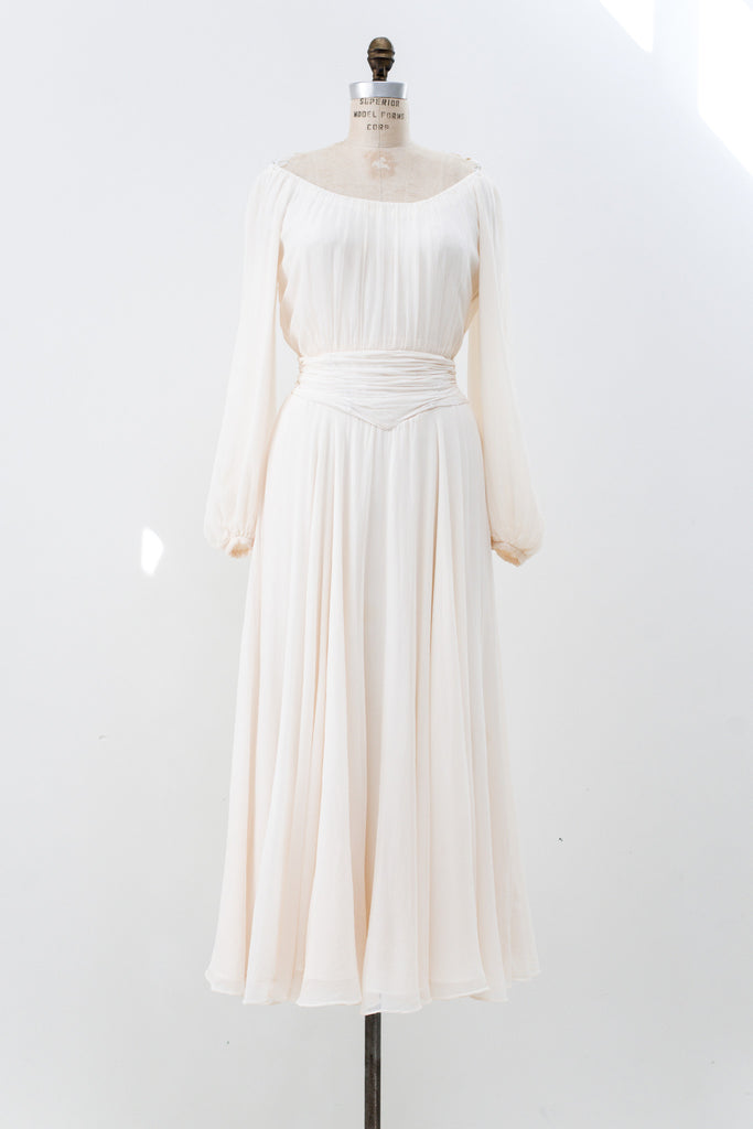 Vintage Chiffon Gown
