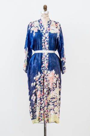 1920s Rayon Floral - One Size