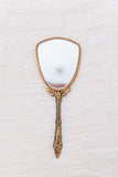 1920s/30s Gilded Mirror with Cherub Motif