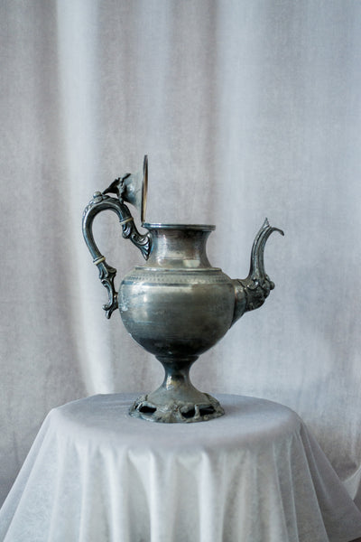 Antique Engraved Pitcher