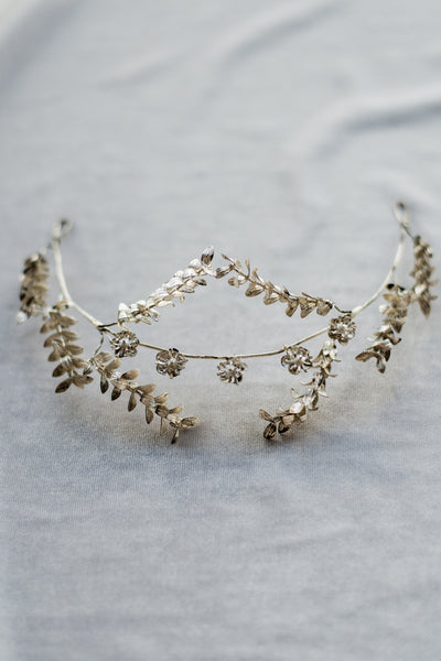 1920s Metal Silver German Tiara