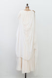 1970s Vintage Silk Draped Gown - M/L