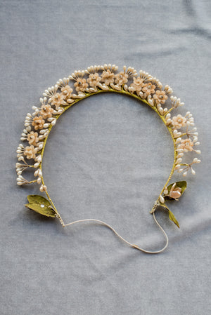 1920s Wax Tiara/Crown - One Size