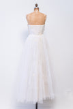 1950s Sweetheart Tulle Dress - S