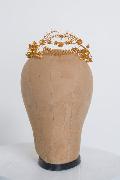 Antique German Tiara - Gold
