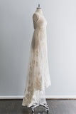 RESERVED 1960s Tulle Beaded Lace Weding Gown - XS