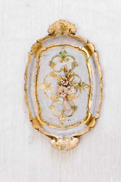 Extra Small Gold Florentine Tray
