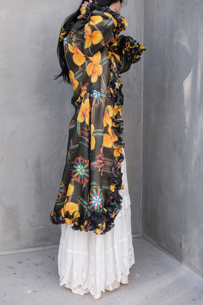Vintage Wrap Style Duster/Robe - S/M