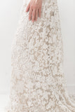RESERVED Antique Irish Lace Skirt - M