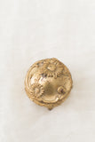 Antique Bas-Relief Gold Ring Box
