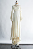 1970s Bell Sleeves Gown - S