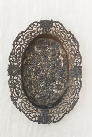 Antique Bas-Relief Dish/Tray