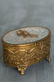 Antique Ormolu Trinket Box