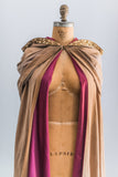RESERVED Antique Cloak with Crimson Lining