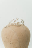 Vintage Metal Tiara with Rhinestones