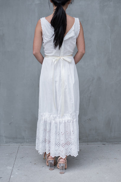 Antique Cotton Underdress - XS/S