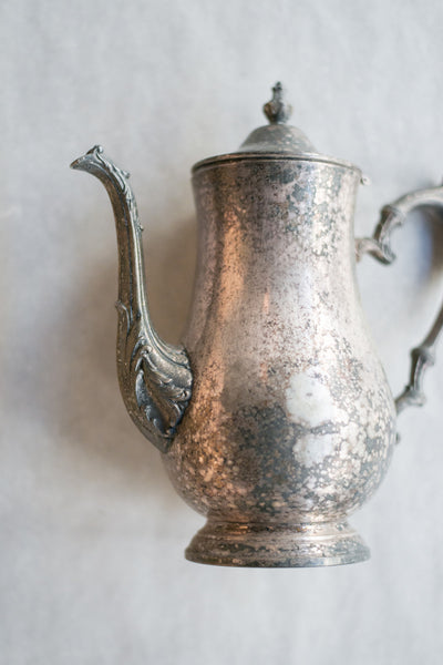 Antique Metal Pitcher