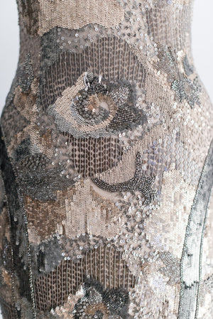Designer  Beaded Gown - Size 2