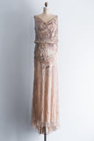 Naeem Khan Beaded Gown - S/4-6
