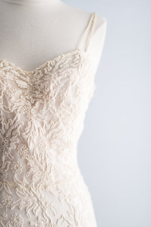 1930's Soutache Lace Dress Dress - XS/S