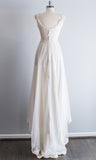 1950s Alecon Lace and Nylon Chiffon Gown - XS/S