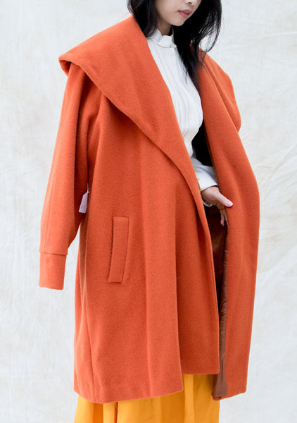 1960s Copper Wool Coat - M/L