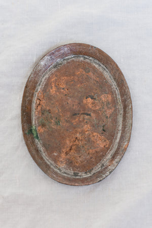 Small Antique Copper Tray