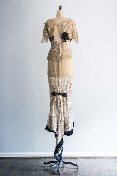 RESERVED Edwardian Belle Epoque Gown - XS/S