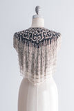 Vintage Detailed Beaded Collar