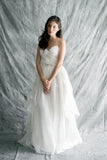 Sweetheart Silk Organza Gown - XS/S