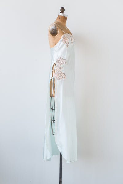 1980s Mint Green Slip - M