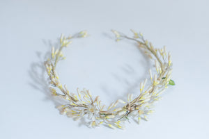 Antique Wax Tiara