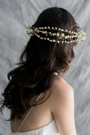 1920s Triple-Band Antique Tiara - One Size
