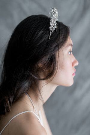 Antique Metal Tiara - One Size