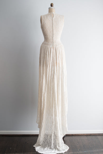 1940s Lace Gown - S/M
