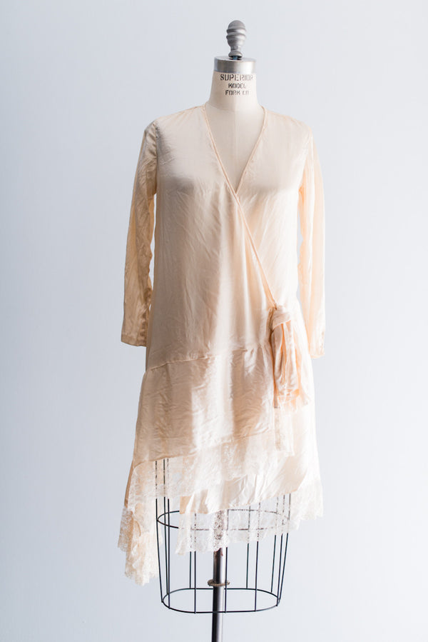 1920s Silk Robe - One Size