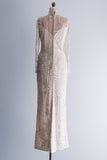 1980's Silk and Net Bob Mackie Gown - M/L