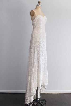 Beaded Lace Gown - S/M