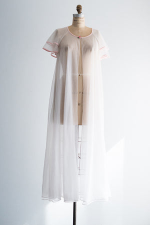 1960s Nylon Nightgown - One Size