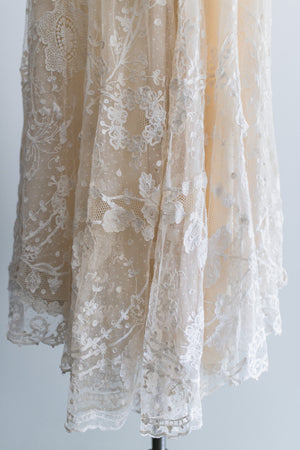 [SOLD] Edwardian Lace Skirt - S