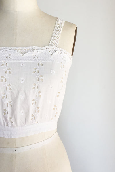 Antique Edwardian Camisole - S
