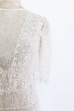 1920s Crochet Lace Dress - S/M