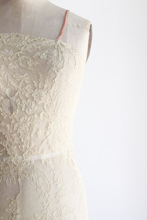 1920s Silk Lace Step-in - XS