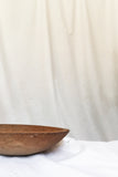 Set of 3 Antique Carved Wooden Bowls