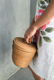1960s Woven Basket Purse - One Size